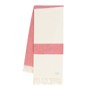 Image Coral Sydney Herringbone Stripe Throw
