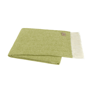 Image Lemongrass Italian Herringbone Throw