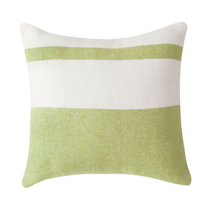 Image Lemongrass Sydney Herringbone Stripe Pillow