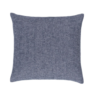 Image Navy Solid Herringbone Pillow
