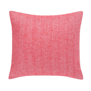 Image Coral Herringbone Pillow