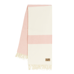 Blush Sydney Herringbone Stripe Throw image