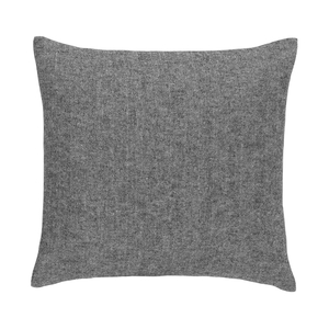 Image Charcoal Solid Herringbone Pillow