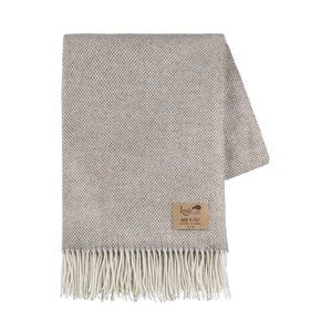 Image Taupe Juno Cashmere Throw