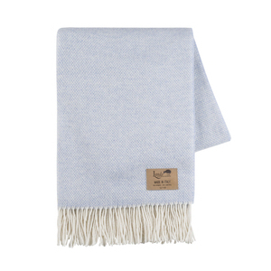 Image Light Blue Juno Cashmere Throw