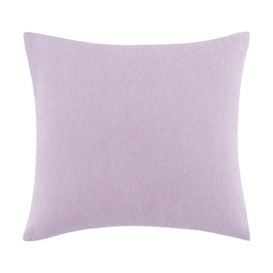 Lilac Solid Herringbone Pillow image