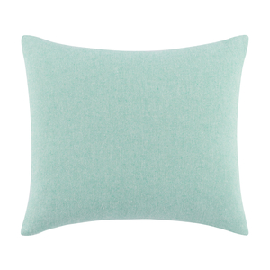 Image Aqua Solid Herringbone Pillow