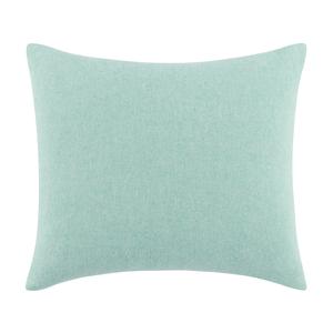 Image Aqua Solid Herringbone Pillow