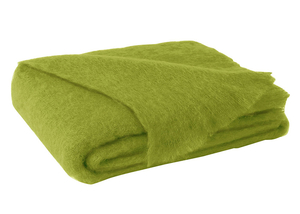 Image Pesto  Brushed Mohair Throw