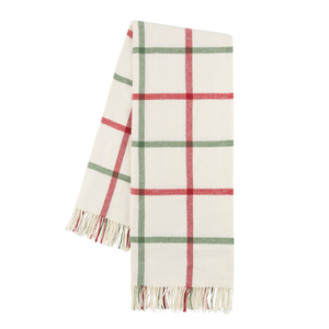 Holiday Tattersall Plaid Throw image