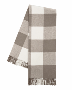 Image Barnwood Buffalo Check Throw