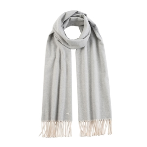 Image Light Gray Herringbone Scarf