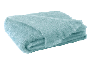 Image Sea Spray Brushed Mohair Throw