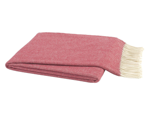 Image Tea Rose Italian Herringbone Throw