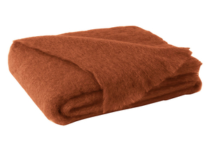 Image Sienna Brushed Mohair Throw