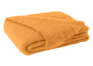 Image Mango Brushed Mohair Throw