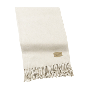 Image Oyster Luxe Italian Cashmere Throw