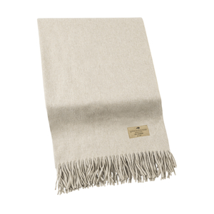 Image Sand Luxe Italian Cashmere Throw