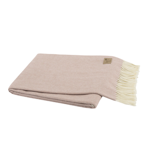 Rose Quartz Italian Herringbone Throw image