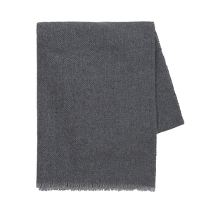Image Charcoal Italian Luna Cashmere Throw