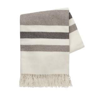 Image Beige and Taupe Italian Riviera Cashmere Throw