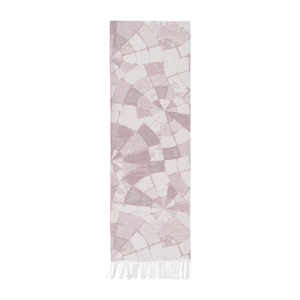 Image Blush Mosaic Cotton Jacquard Throw