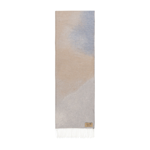 Image Tan Ombré Cotton Jacquard Throw