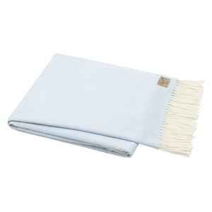 Image Sky Blue Italian Herringbone Throw